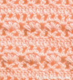 Fleur-de-lis - Crochet Stitch - free pattern