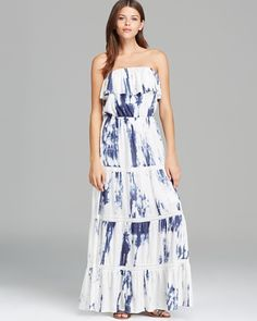 GUESS Strapless Marbled Dress Indigo/Multi $79 SHIPS FREE BEACH HIPPIE (Patent Pending) Ladies Clothing KIOSKS IN NJ AND & NY ♥ ♥ ♥ AUTHENTIC TOP BRANDS♥ ♥ ♥ OUR PRICES ARE THE BEST!...GUARANTEED! ♥ ♥ ♥