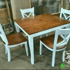 Bahan kayu mahogani Finishing cat Duco K-4 meja 110x90x80