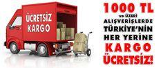 1.000TL. üzeri tüm Türkiye'ye kargo Bedava www.ankastreal.com