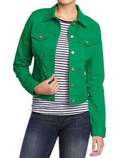 . dyt type 1 green denim Old Navy jacket . found it today at my local store in my size on clearance for less than four dollars!! .
