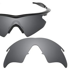 7f9e091bf97 Revant Polarized Replacement Lens for Oakley M Frame Heater Black Chrome  MirrorShield Oakley Frames