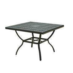 Add a modern touch to your outdoor dining space with the Sunjoy A+R Belthorne Patio Dining Table. Features textured dark brown finish with golden accents. Outdoor Dining, Outdoor Decor, Patio Dining, Square Dining Tables, Patio Table, Lowes Home Improvements, Timeless Design, Outdoor Furniture