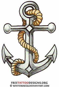 Tattoo Old School Sailor Jerry Ships New Ideas - april.danil Tattoo Old School Sailor Jerry Ship Anchor Tattoo Design, Anchor Tattoos, Anchor Designs, Navy Tattoos, Trendy Tattoos, Tattoos For Guys, Cool Tattoos, Tatoos, Mermaid Tattoos