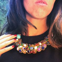 #gargantillacuajada #oshjewellery