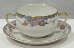HAVILAND LIMOGES PAILEY PATTERN