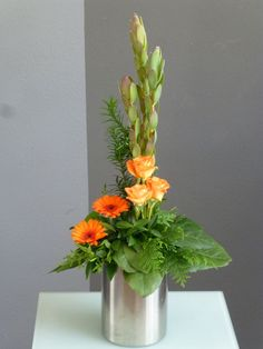 Flower Arrangement, Floral Arrangements, Art Floral, Glass Vase, Bouquet, Bloom, Tropical, Birthday, Flowers