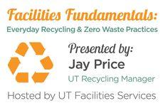 Facilities Fundamentals: Recycling Tips