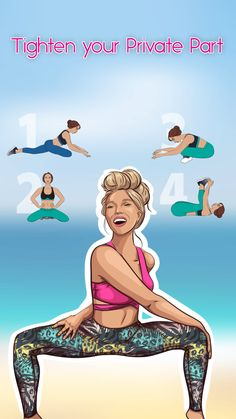 Practice Yoga to Lose Weight - Yoga Fitness. Introducing a breakthrough program that melts away flab and reshapes your body in as little as one hour a week! Fitness Workouts, Fitness Herausforderungen, Butt Workout, At Home Workouts, Dumbbell Workout, Workout Routines, Physical Fitness, Yoga Videos, Workout Videos