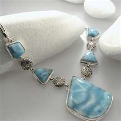 Larimar Jewelry, from the Bahamas...