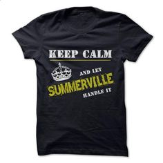 Let SUMMERVILLE Handle it - #sweaters for fall #sweater for fall. SIMILAR ITEMS => https://www.sunfrog.com/Funny/Let-SUMMERVILLE-Handle-it.html?68278