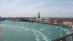Leaving Venice on the Celebrity Equinox