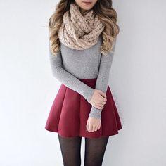 Une jolie tenue pour l'hiver !  #nouvelleco #look #tenue #mode