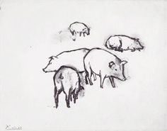By Picasso - Pigs