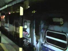 Lokomotif Ekspres Senandung Langkawi Terbakar Di Kuala Kangsar