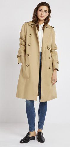 Stella McCartney Bonded Trench Coat