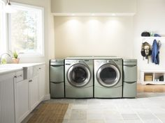 Steam washer/dryer set.  What are its benefits? Chief among them are time savings from not having to pre-treat spots and potentially better stain removal
