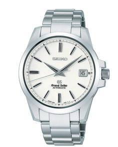 Grand Seiko, Mechanical GMT Watch, with 35 jewels and stainless steel accent, SBGR055  www.SeikoUSA.com