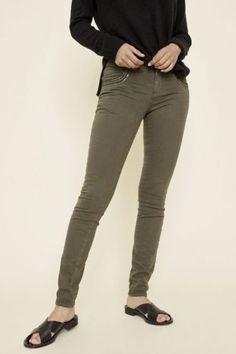 Army 'Naomi Shine' bukse med pynt ved lomme Mos Mosh - 123950 naomi shine Khaki Pants, Army, Fashion, Environment, Gi Joe, Moda, Khakis, Military, Fashion Styles