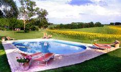 Fattoria Santa Vittoria Farmhouse and Winery, Italy #itália #italy #pool