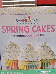 Tylina Sweetshop Spring Cakes Premium Cupcake Kit Spring Cake, Easter 2020, Food Reviews, News Blog, Junk Food, Cupcake, Kit, Cakes, Party