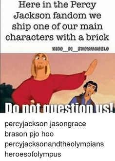 I still ship Jasper but if I were to ship Jason with someone else it would be a brick