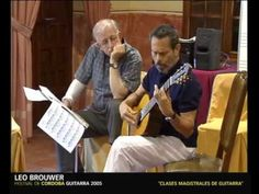 Leo Brouwer in the Cordoba Guitar Festival 2005