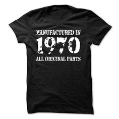 MANUFACTURED IN 1970 - ALL ORIGINAL PARTS #tee #style