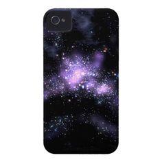 purple galaxy Case-Mate iPhone 4 cases