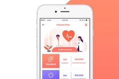 Features: - 12 PSD layer File included - px - Fully Customizable - Good color combination - Fully layered - Well Organized Group and layers - Ready to Good Color Combinations, Mobile App Ui, App Ui Design, Health Insurance, Medical, How To Plan, Health Insurance Coverage, Medicine, Med School