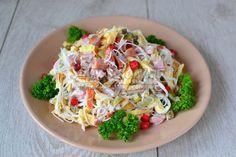 Праздничный салат с фунчозой