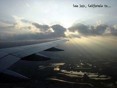 San Jose, Costa Rica, Airplane View, Saint Joseph