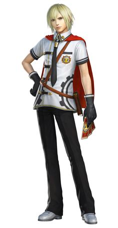 Ace, Summer Uniform A from Dissidia Final Fantasy NT