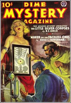 Dime Mystery Magazine (May) Vintage Pulp