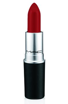 Mia Moretti For MAC Lipstick in Cherry Red