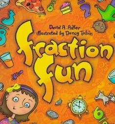 This huge list of books includes all the best children's books to teach fractions, and explore math in a way that is fun and engaging for kids! Teaching Fractions, Math Fractions, Teaching Math, Teaching Ideas, Maths, Math Literacy, Teaching Materials, Kindergarten Math, Math Literature