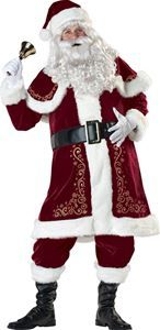 Jolly Ole Saint Nick Deluxe Adult Mens Costume - 327954 | trendyhalloween.com #christmascostumes #santaclauscostumes #menscostumes