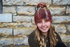 #crochet hat pattern from Tangled Happy
