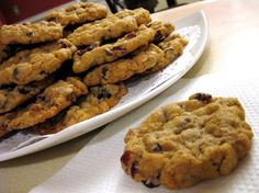 Sohl Design: Oatmeal Cranberry Chocolate Chip Cookies
