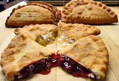 The Original Fried Pie Shop (Nancy's Pies) in Oklahoma near Turner Falls has THE BEST hand-held pies ever! Choose fruit and/or meat, even sugar free and prepare yourself for a heavenly meal!