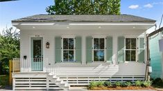 The Sweetest New Orleans Cottage We ve Ever Seen Hits the Market for 225 000 Cottage Style Homes, Beach Cottage Style, Beach Cottage Decor, Coastal Cottage, Coastal Homes, Beach Cottage Exterior, Southern Cottage, Cottage Design, Shabby Cottage
