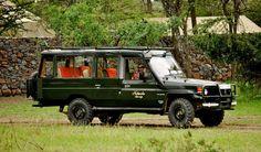 Safari Jeep, Naboisho Camp, Masai Mara, Kenya