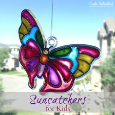 Summer Craft for Kids: Melted Bead Suncatchers