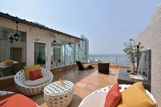 Three Level Penthouse by Space Dynamix. Located in in Mumbai, India
