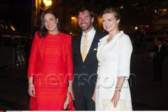 Princess Alexandra of Luxembourg, HGD Guillaume and Stephanie of Luxembourg: Natonal Day 2013