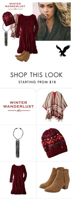 """Winter Wanderlust with American Eagle: Contest Entry"" by twinkle-1707 on Polyvore featuring American Eagle Outfitters and aeostyle"