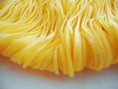 Italia terra di pasta: i maccheroncini all'uovo di Campofilone