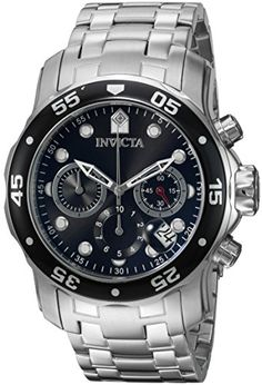 """Invicta Men's 0069 """"Pro Diver Collection"""" Stainless Steel Watch * Details can be found by clicking on the image."""