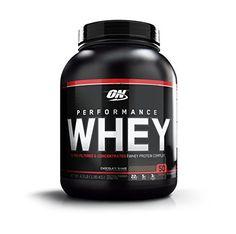 Optimum Nutrition Performance Whey Diet Supplements, Chocolate Shake, 4.3 Pound