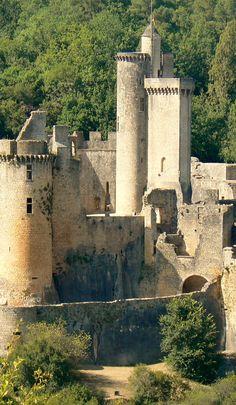Chateau Bonaguil, Lot et Garonne, France